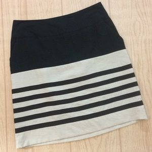 The Limited size small Stripe skirt Sm